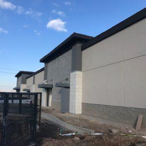 New Stucco Installation